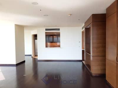 فلیٹ 2 غرفة نوم للايجار في وسط مدينة دبي، دبي - Huge 2 Bedroom   High Floor   Stunning View