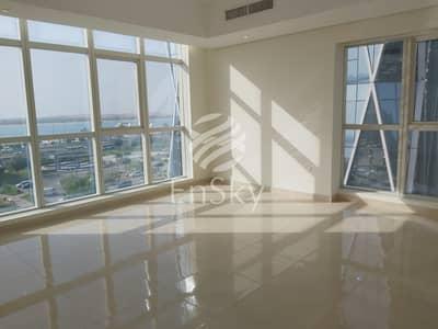 فلیٹ 1 غرفة نوم للايجار في منطقة الكورنيش، أبوظبي - Full Sea View 1BHK Apartment  in Corniche Area