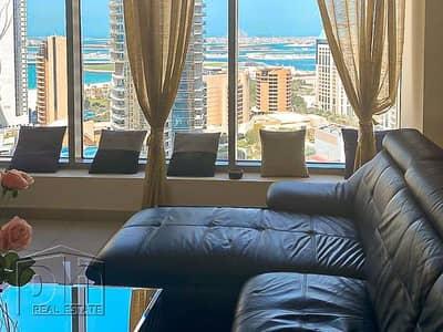 شقة 1 غرفة نوم للايجار في دبي مارينا، دبي - | Full Furnished | Partial Sea View |
