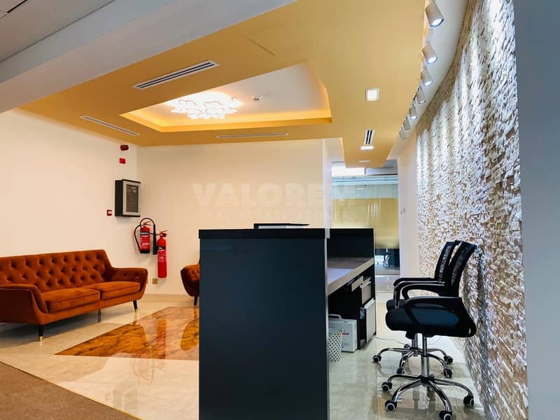 2 FURNISHED AND SERVICED OFFICE FOR RENT IN BUSINESS BAY
