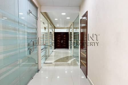 Office for Rent in Corniche Area, Abu Dhabi - Grab Now this Perfectly Semi - Furnished Office in a Commercial Building