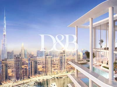4 Bedroom Apartment for Sale in Business Bay, Dubai - Burj Khalifa and Canal Views | Luxury Style Living