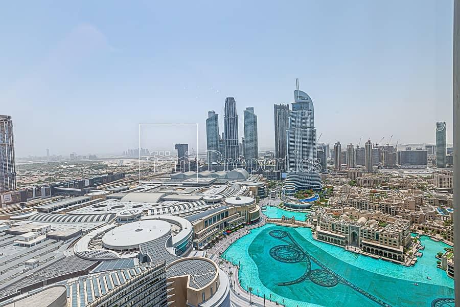 2 2BR+Study | Fountain View | Burj Khalifa