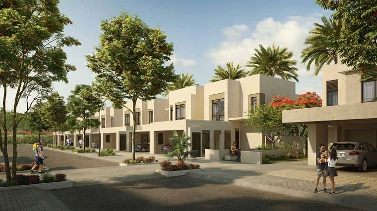 Best Villa Single  row Type  2M  3bedrooms with maids room