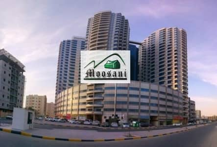 1 Bedroom Flat for Rent in Ajman Downtown, Ajman - FALCON TOWER: 1 BEDROOM Hall  with Parking in 25K