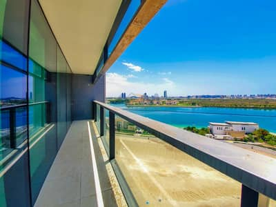 2 Bedroom Flat for Rent in Al Reem Island, Abu Dhabi - Brand New ! Sea View 2BHK Apartment With Maid.