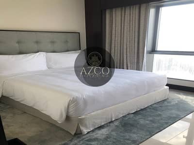 Fully Furnished 1BR | Service Apartment- All Inclusive | Burj Khalifa View