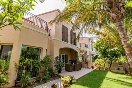 4 Bedroom Townhouse for Sale in Green Community, Dubai - On the Park| 4 Beds | Facing the Pool