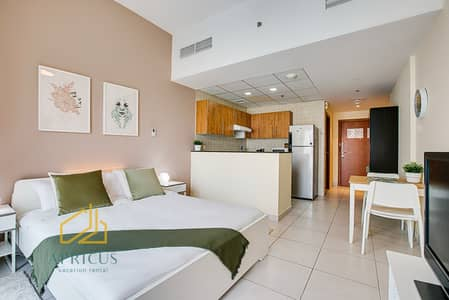 Newly Furnished Studio in Marina View Tower