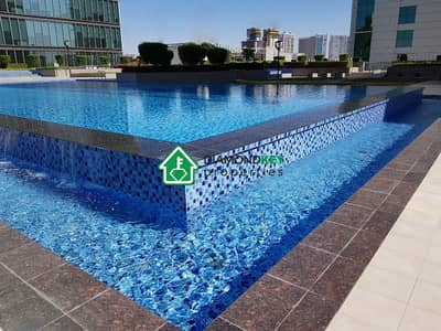 1 Bedroom Flat for Rent in Al Reem Island, Abu Dhabi - Massive 1 Bed in RAK Tower, Marina Square
