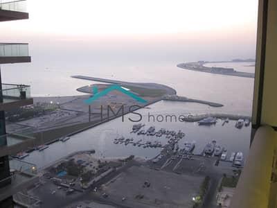 فلیٹ 2 غرفة نوم للبيع في دبي مارينا، دبي - Amazing Sea Views   High Floor   Spacious