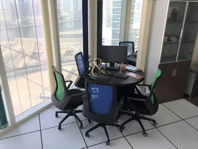 Office for Sale in Business Bay, Dubai - Fitted Office Space   Affordable Deal   Well Maintained.