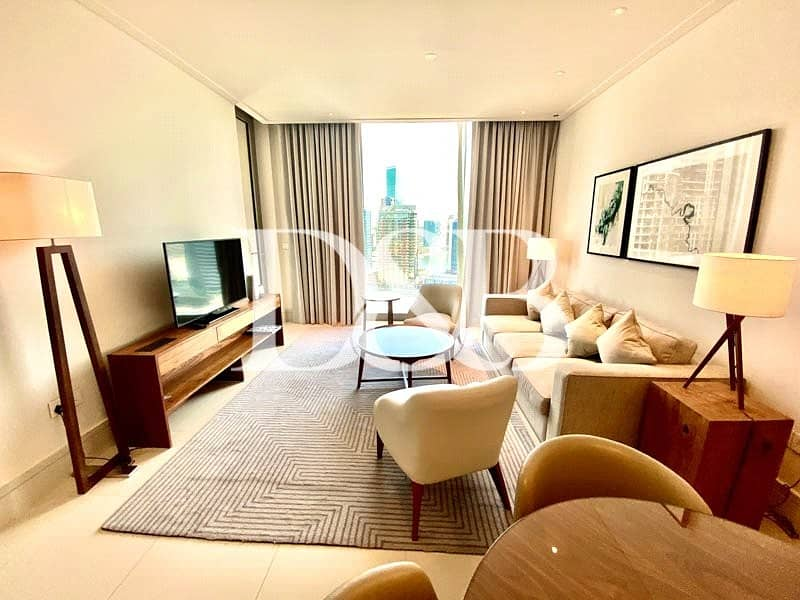 2 Serviced Fully Furnished I High Floor I Quiet