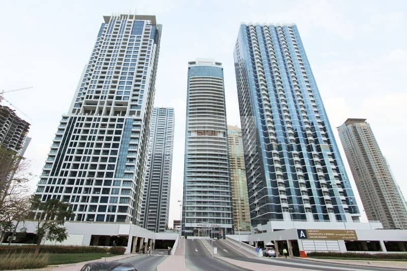 10 3BR Unit in JLT | SZR and Sea Views | Vacant Now !