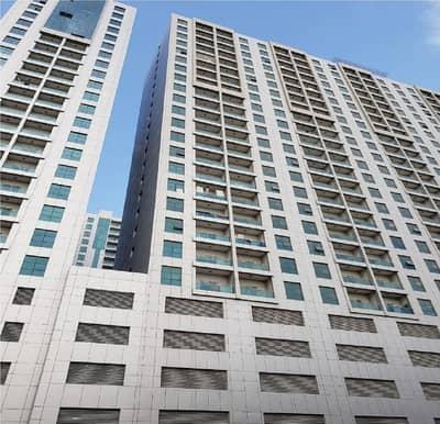 شقة 1 غرفة نوم للايجار في النعيمية، عجمان - شقة في برج المدينة النعيمية 3 النعيمية 1 غرف 18500 درهم - 4625382