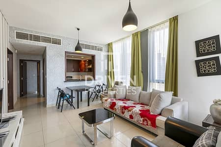 2 Bedroom Apartment for Rent in Downtown Dubai, Dubai - Furnished 2 Bedroom Apartment with Burj View