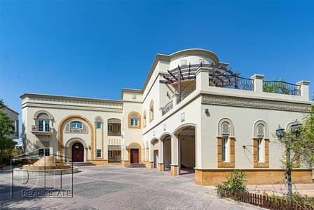 فیلا 6 غرف نوم للايجار في تلال الإمارات، دبي - Luxury 6 Bed+Study | Fountain | Lift | Lake View