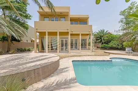 3 Bedroom Villa for Rent in Arabian Ranches, Dubai - Upgraded Kitchen | Private Pool | Close to Jess