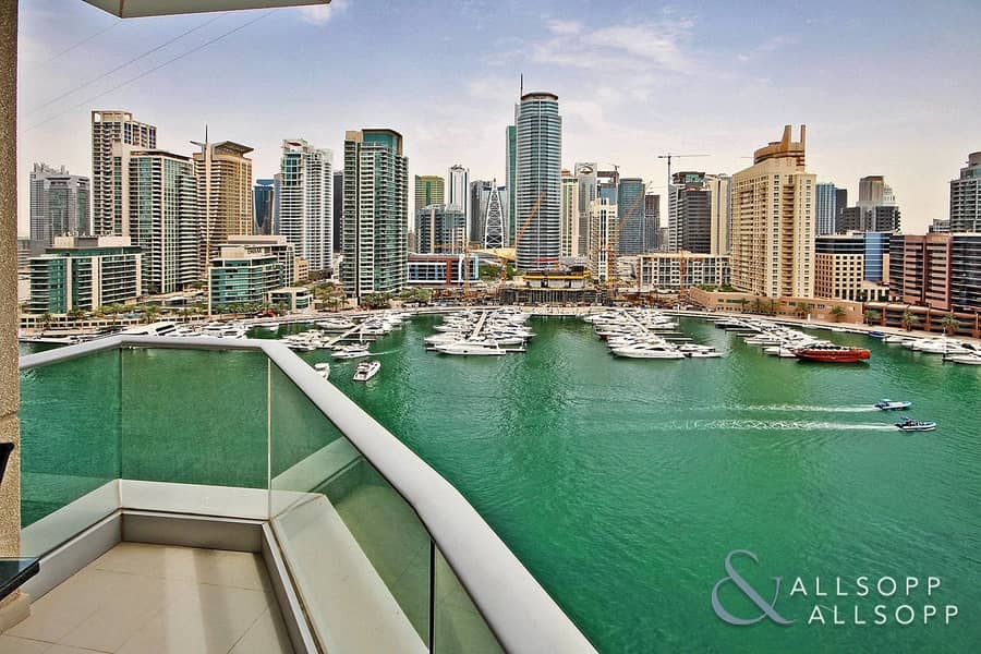 2 Two Bed | Full Marina View | High Floor