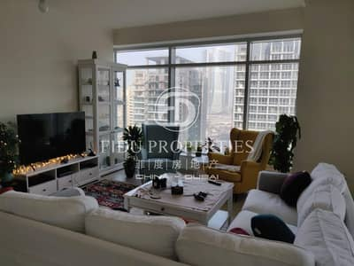 High floor Open View one bed with fitted kitchen