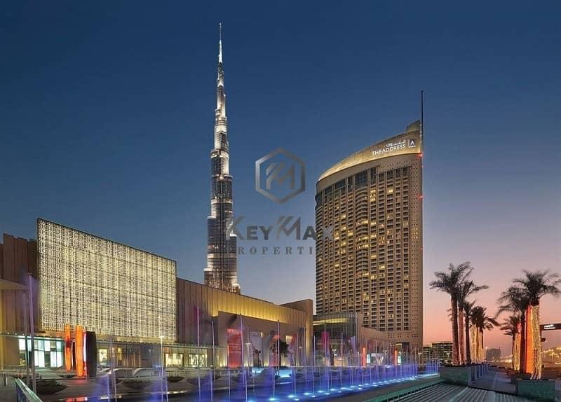 2 AMAZING STUDIO IN DUBAI MALL ADRESS HOTEL