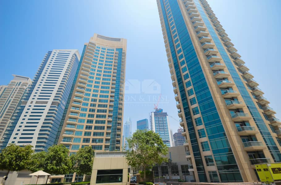 23 Unfurnished 1 bed | Full Marina view | Vacant soon