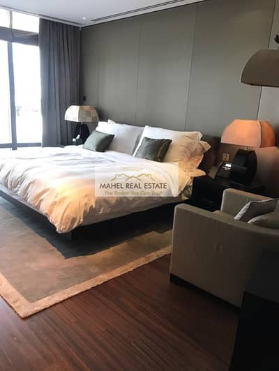 1 Bedroom Apartment for Rent in Downtown Dubai, Dubai - One bedroom fully furnished service apartment for rent in Armani Hotel Burj Khalifa Dubai