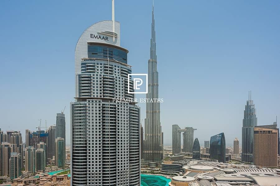 12 Unique 2BR with Terrace|Burj Khalifa|Fountain view