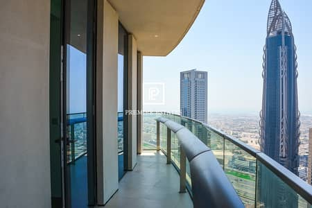 3 Bedroom Apartment for Sale in Downtown Dubai, Dubai - DIFC and Sea View| Maids room| Higher Floor