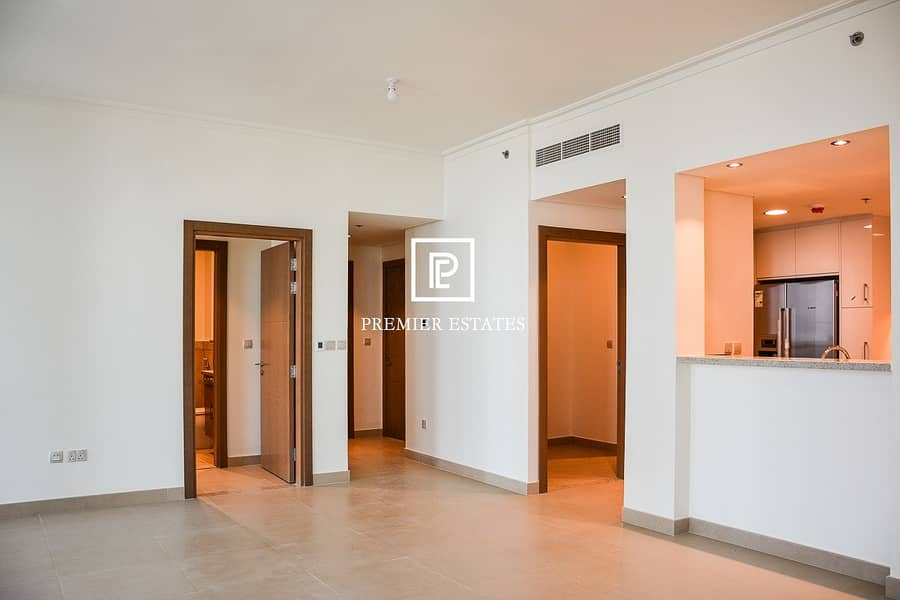 2 DIFC and Sea View| Maids room| Higher Floor