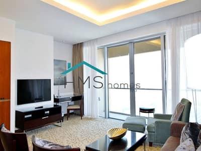 شقة 1 غرفة نوم للايجار في وسط مدينة دبي، دبي - Amazing One Bedroom Apartment At The Fantasic Address Dubai Mall