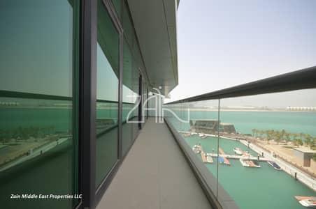 2 Bedroom Flat for Sale in Al Raha Beach, Abu Dhabi - Full Sea View Modern 2 BR Apt in Waterfront Community