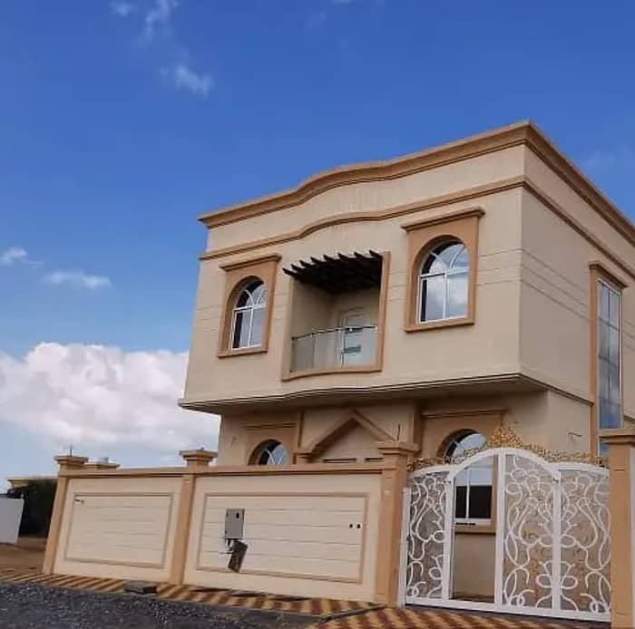 Villa stone personal building monthly premium 5000 dirham superdelux finishes in exchange for a privileged site mosque without an initial payment directly from the owner