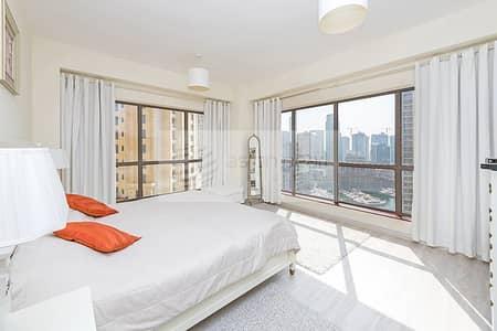 فلیٹ 2 غرفة نوم للبيع في جميرا بيتش ريزيدنس، دبي - Beautiful Panoramic Marina View 2 BR