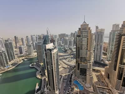 1 Bedroom Apartment for Rent in Dubai Marina, Dubai - Multiple Cheques - Best Layout Tower