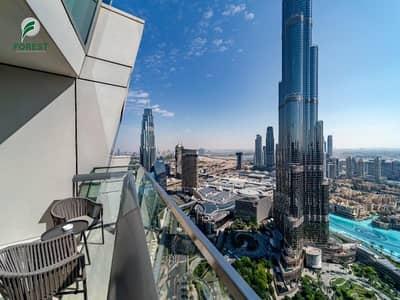 فلیٹ 3 غرف نوم للبيع في وسط مدينة دبي، دبي - Burj - Fountain View | Best Price | Furnished