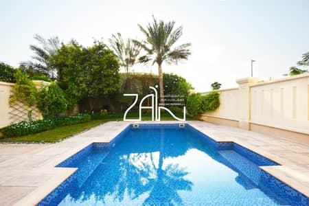 تاون هاوس 4 غرف نوم للبيع في جزيرة السعديات، أبوظبي - Unique Single Row 4 BR Quadplex with Pool on Large Plot