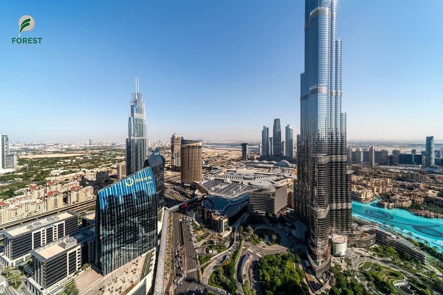 16 Iconic Burj - Fountain Views | Furnished 3BR Apt
