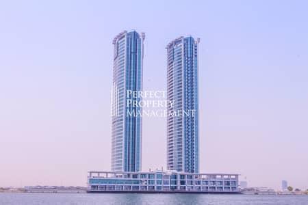 فلیٹ 1 غرفة نوم للايجار في دفن النخیل، رأس الخيمة - Very Nice 1 Bedroom apartment for rent in Julphar towers - Sea View