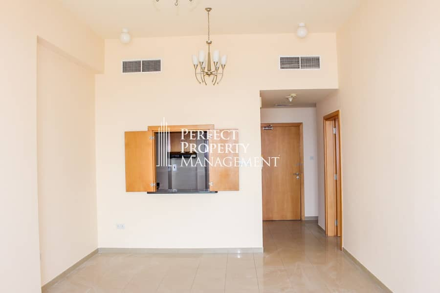 2 Very Nice 1 Bedroom apartment for rent in Julphar towers - Sea View