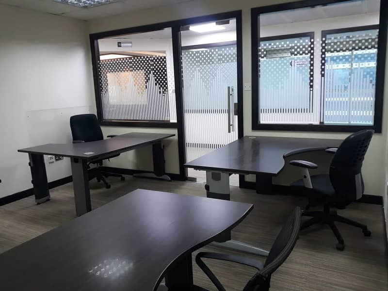 Presentable Office with a Partition Available for Lease