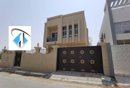 فیلا 5 غرف نوم للبيع في الياسمين، عجمان - فيلا  جديده اول ساكن بتشطيب سوبر علي شارع رئيسي بسعر ممتاز تملك حر لجميع الجنسيات.