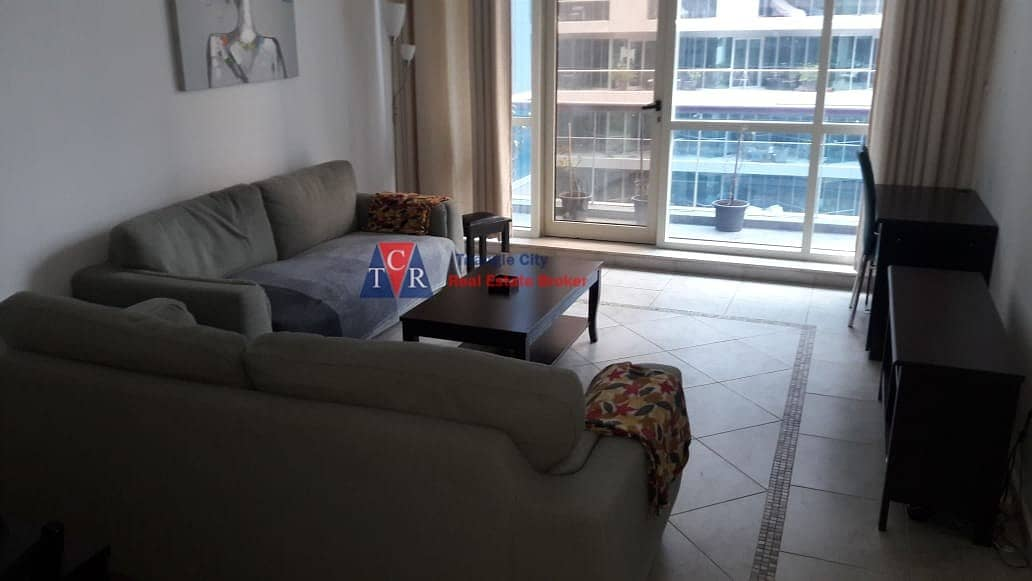 1 Furnished 2 Bed Room Hall for Rent in ARY Marina View