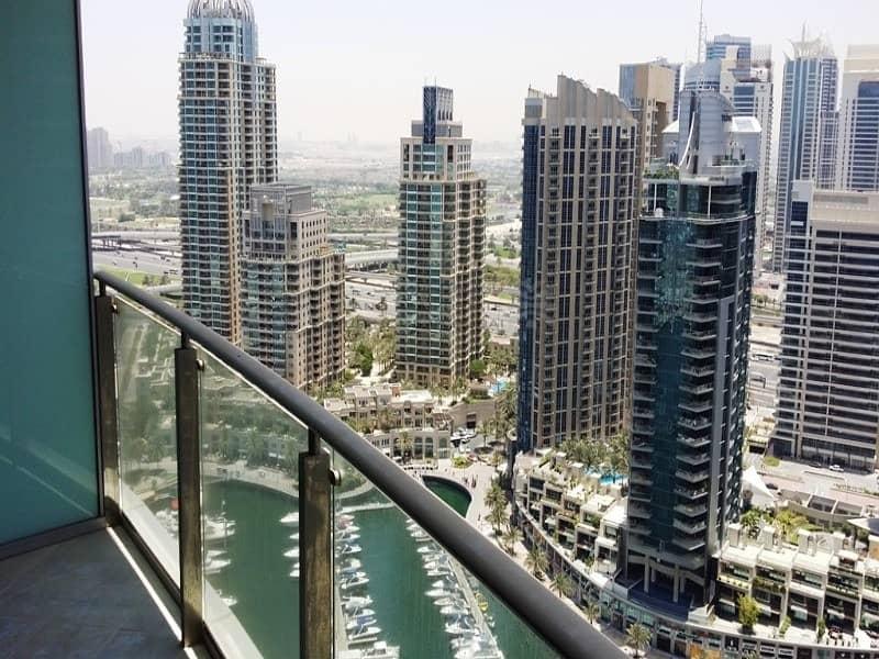 2 Unfurnished | Marina Terrace | Sea & Marina View