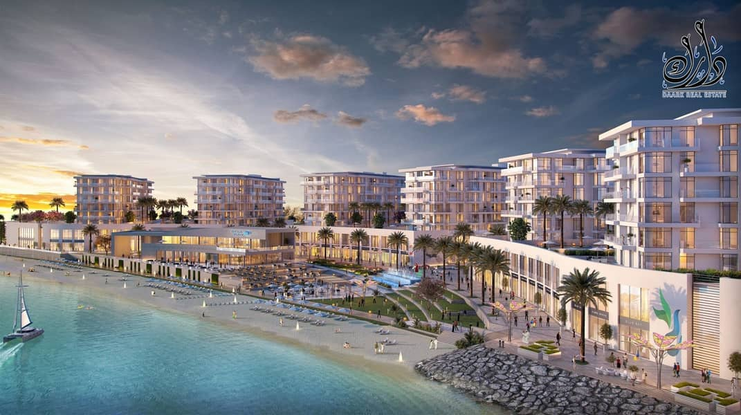 2 OWN IN SHARJAH  SEA VIEW | 4 YEAR'S PAYMENT PLAN