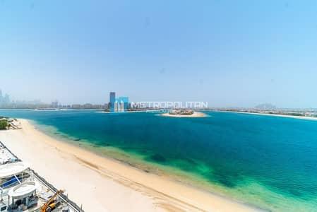 فلیٹ 1 غرفة نوم للبيع في نخلة جميرا، دبي - Spacious apartment on high floor with sea view