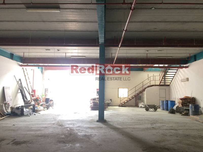 Commercial 8040 Sqft Warehouse with 40 KW Power in Umm Ramool
