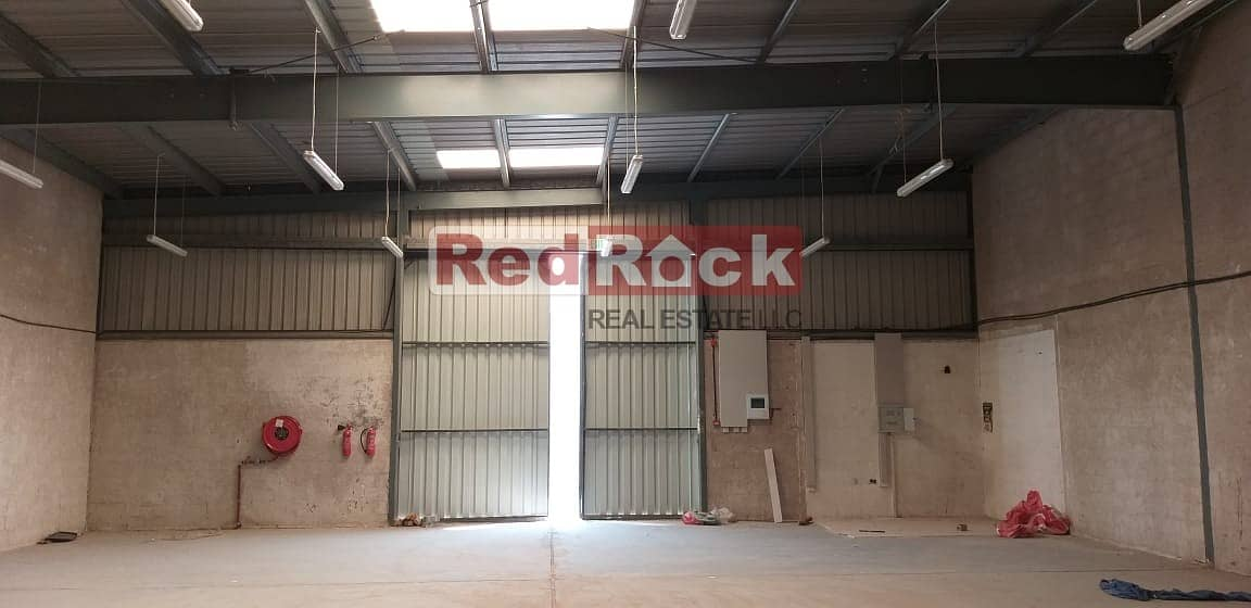 TAX FREE  2604 Sqft Warehouse Suitable for Distribution in Umm Ramool