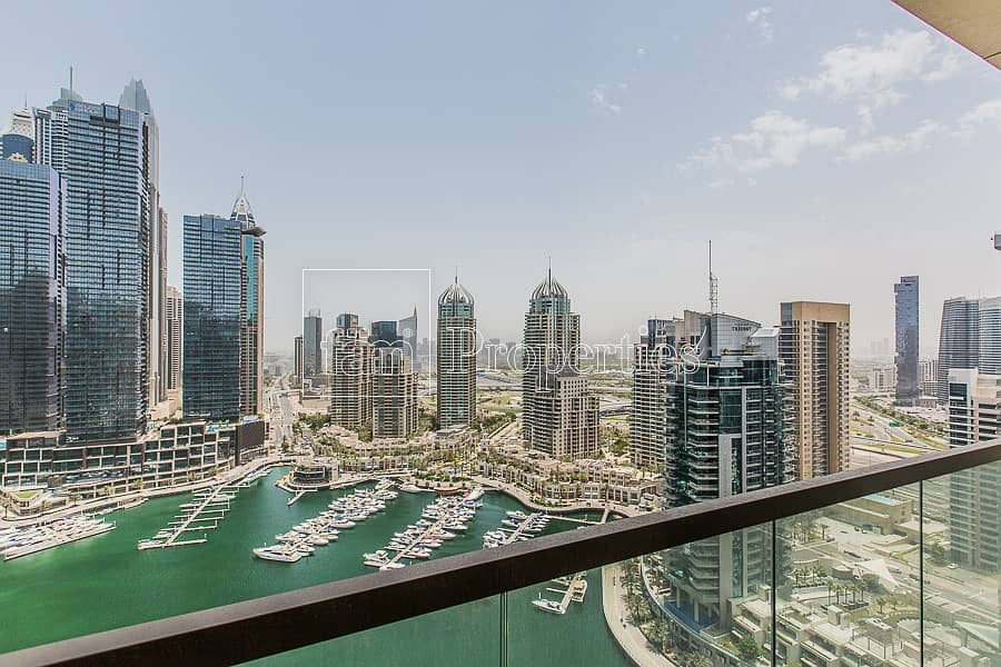 2 Best 3BR+L with Amazing Full Marina View