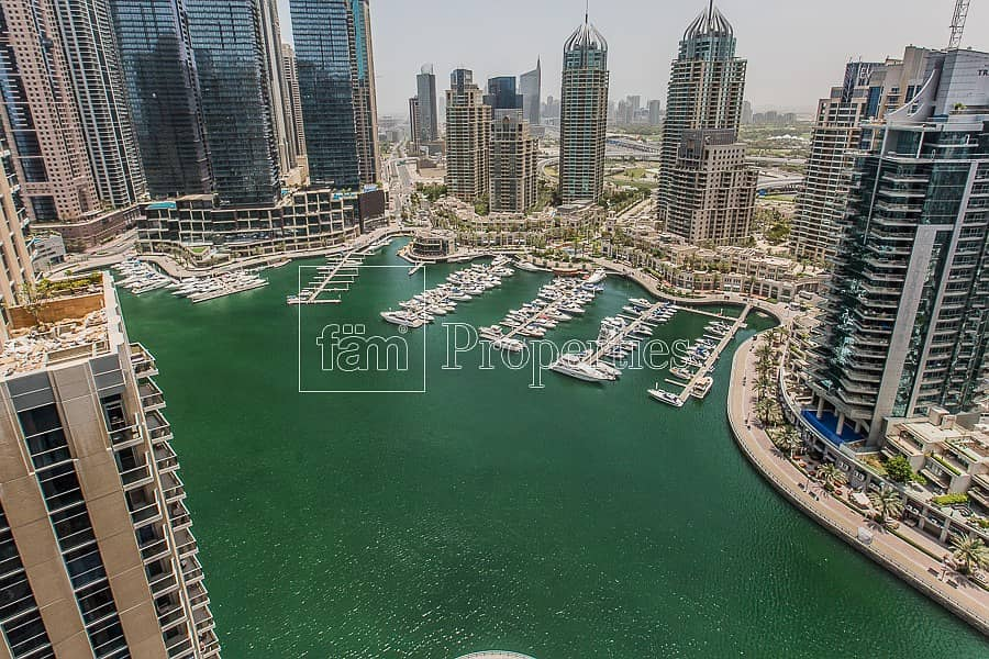 Best 3BR+L with Amazing Full Marina View